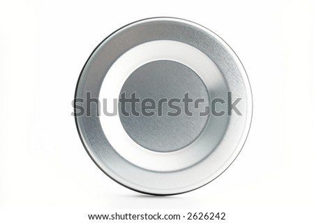 Abstract metal circle background