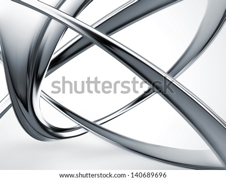 abstract metal construction - industrial background - stock photo
