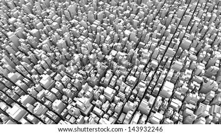abstract metropolis 04 - stock photo