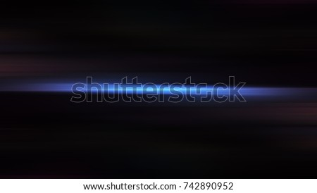 Abstract minimal motion blur light background on black