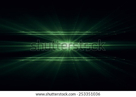 Abstract minimalistic 3D plane background - stock photo