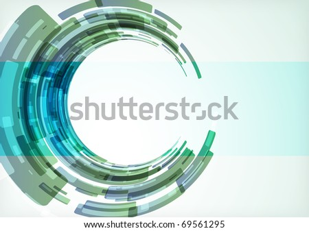 abstract modern background. illustration - stock photo