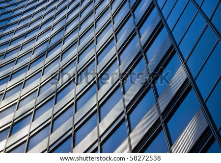 abstract modern building background for design - stock photo