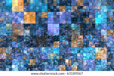 Abstract mosaic color background - stock photo
