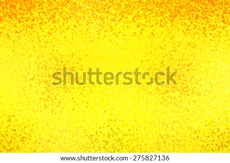 Abstract mosaic geometrical gold background