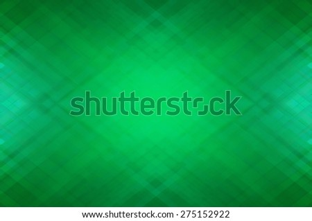 Abstract mosaic geometrical green background - stock photo
