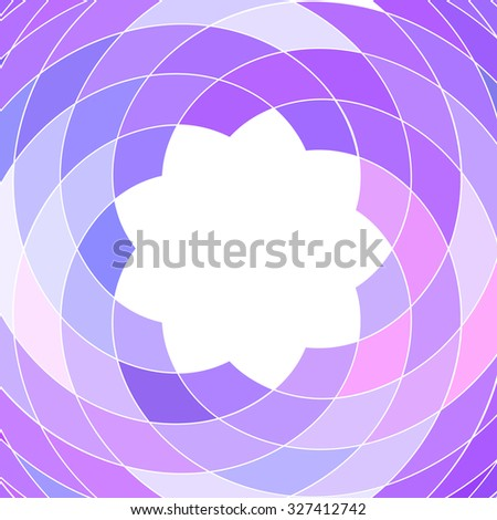 Abstract mosaic pattern of colorful geometric shapes - stock photo