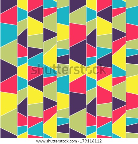 Abstract mosaic pattern. Seamless illustration.