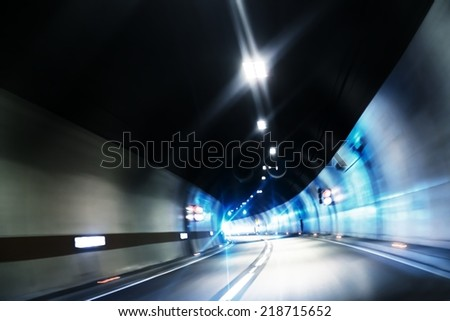 Abstract motion background with colorful lines angle shot - stock photo
