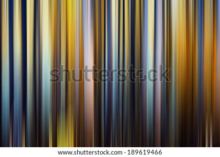 Abstract motion blur of trees in a forest with altered colors,abstract colorful background - stock photo