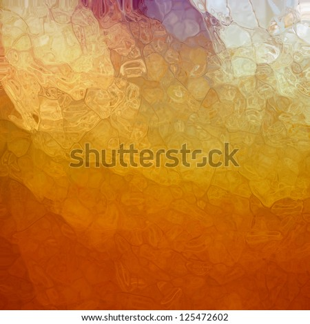 abstract multicolor background, glossy glass texture with corner spotlight sunshine design and blotchy mosaic style design effect with metallic shine and random shape elements, artsy luxury background - stock photo
