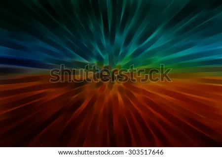 abstract multicolored background. explosion star.