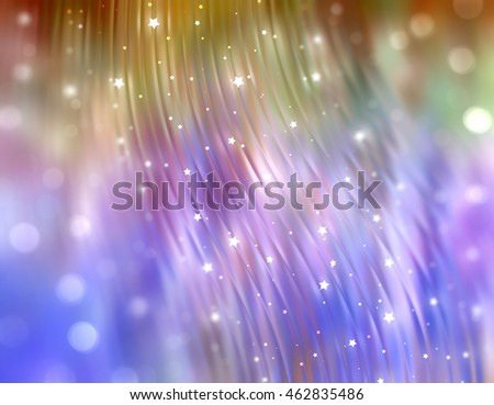 abstract multicolored bokeh circles. Beautiful background with particles.