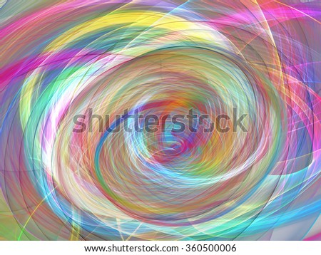 abstract multicolored circles background - stock photo
