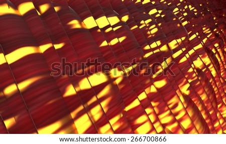 Abstract muscle coated fiber on glowing of energy background and red blood cells. Organic Tissue Texture  - stock photo