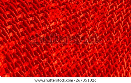 Abstract muscle fiber background and red blood cells. Organic surface Tissue Texture - stock photo