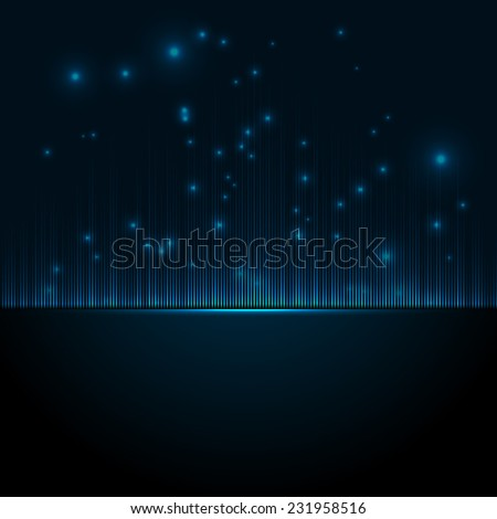 Abstract music equalizer.   - stock photo