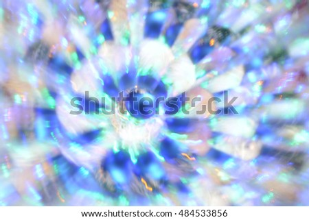 Abstract natural background, Christmas lights