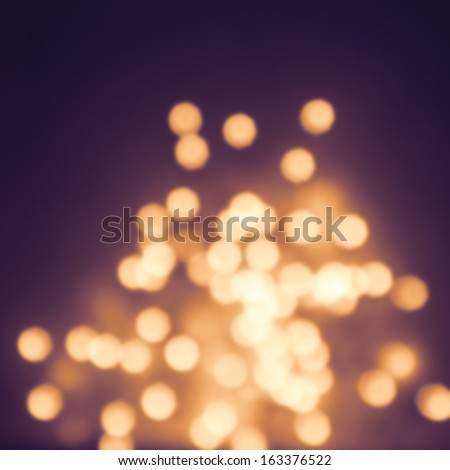 Abstract natural blur defocussed background with sparkles, fine art, soft focus, greeting holiday card, festive frame, magic lights, shiny wallpaper - stock photo