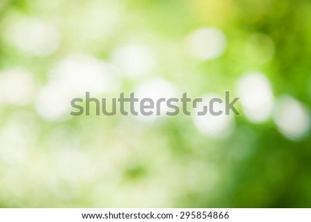 abstract natural green background. boke - stock photo