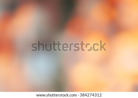 Abstract nature background with natural bokeh and defocused lights. Art soft toned artistic background