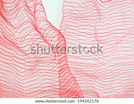 abstract net background - stock photo