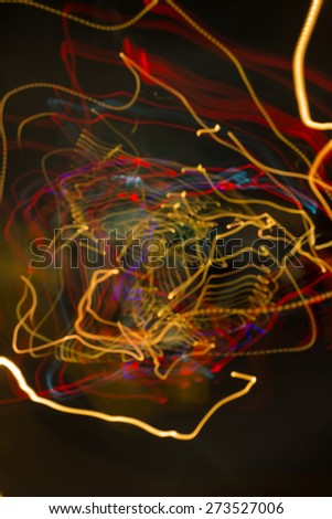 abstract night light,Blurred ,background