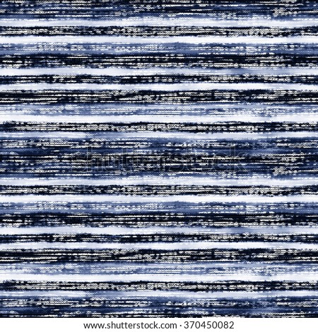 Abstract noisy striped space dye distressed background. Seamless pattern. - stock photo