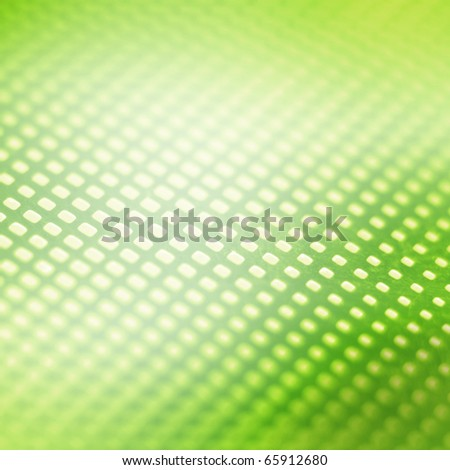 Abstract of Blue Light Rays - stock photo