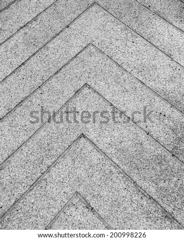Abstract of concrete sidewalk - stock photo