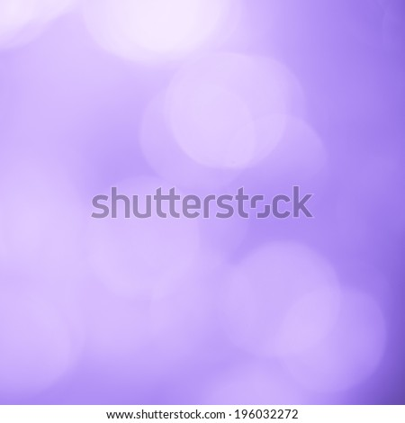 Abstract of purple bokeh defocused lights - stock photo