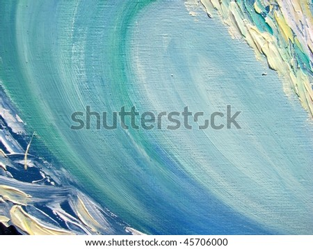 abstract oil background - stock photo