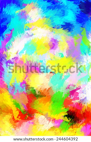 abstract oil paint cored background