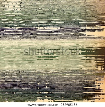 Abstract old background or faded grunge texture. With different color patterns: brown; gray; green; black - stock photo