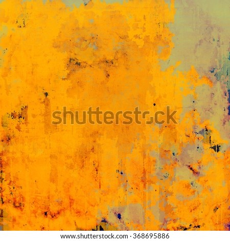 Abstract old background or faded grunge texture. With different color patterns: yellow (beige); brown; green; gray - stock photo