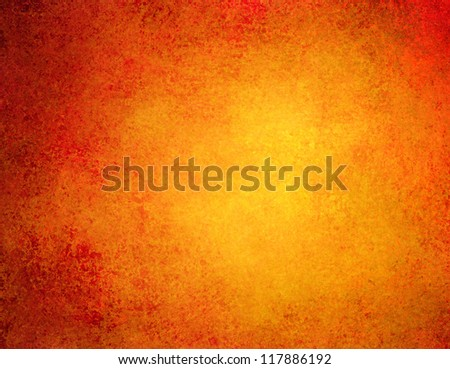 abstract orange background or red background with bright colorful background with vintage grunge background texture gradient design or Thanksgiving warm autumn background invitation or web template - stock photo