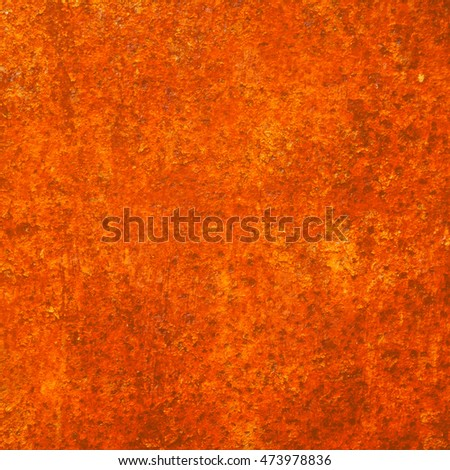 abstract orange background texture of a metal surface