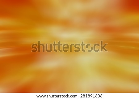Abstract orange background with bokeh defocused lights and shadow. - stock photo