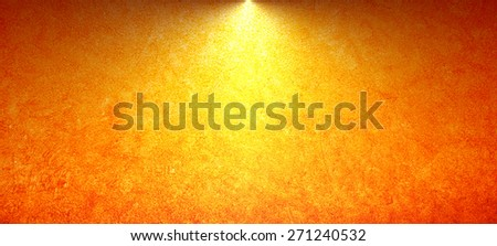 abstract orange background with flash