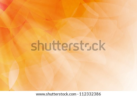 abstract orange curves background. - stock photo