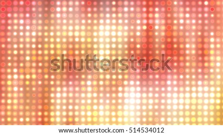 Abstract orange football or soccer backgrounds. light background. illustration digital.
