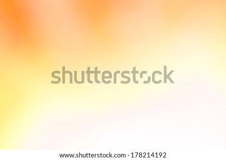 Abstract orange soft background with gradient  highlights - stock photo