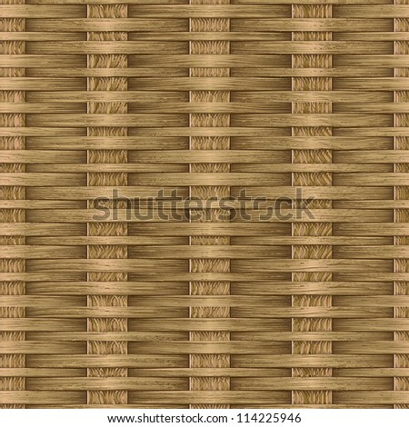 Abstract ornate basket weaving background. Seamless pattern. Illustration. - stock photo