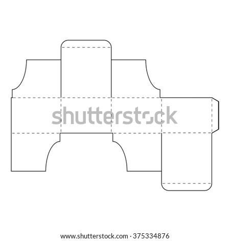 presentation stand box stock vector 98418236 shutterstock. Black Bedroom Furniture Sets. Home Design Ideas