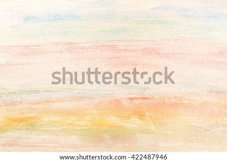 Abstract paint on canvas background - stock photo