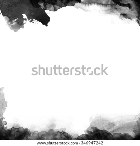 Abstract Paint Watercolors Background - stock photo