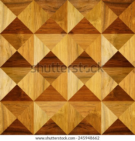 Abstract paneling pattern - seamless background - pyramidal pattern - stock photo
