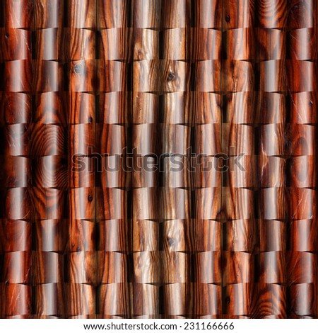 Abstract paneling pattern - seamless background - wood wall - cherry veneer - Decorative trim - natural surface - Continuous replication