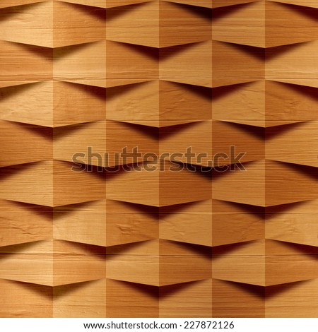 Abstract paneling pattern - seamless background - wood wall - veneer alder - stock photo