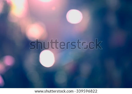 Abstract pastel bokeh blurred background - stock photo